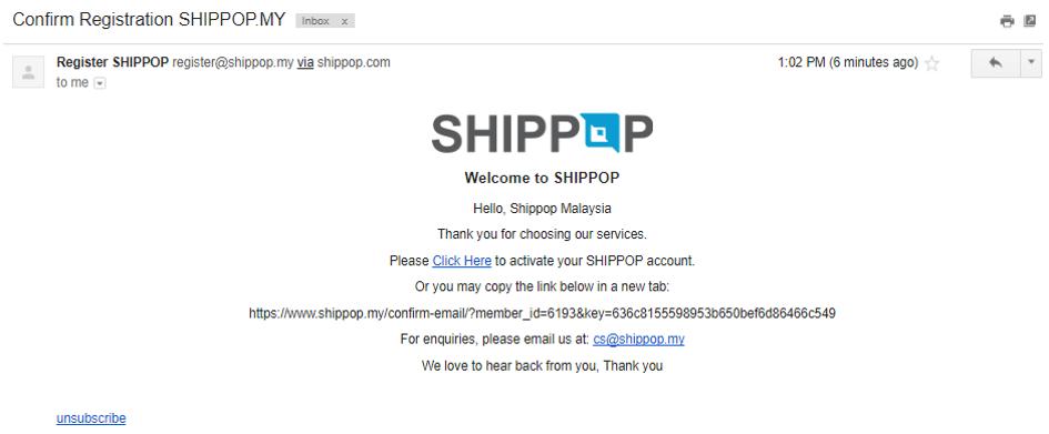 FAQ : SHIPPOP